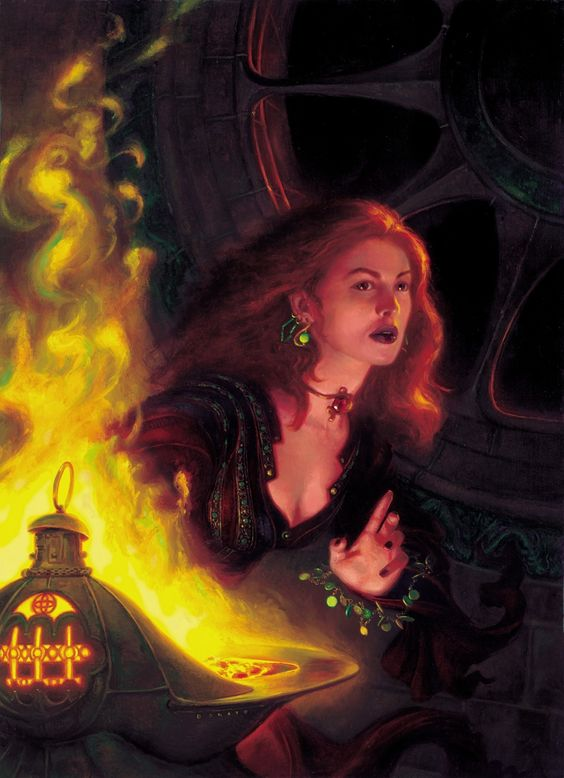 Melisandre of A Song of Ice and Fire by Donato Giancola