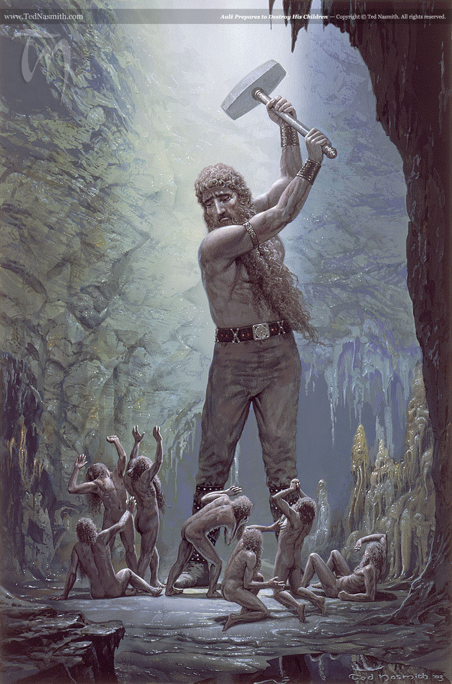 Aule by Ted Nasmith