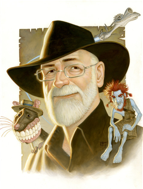 Terry Pratchett Portrait by Paul Kidby