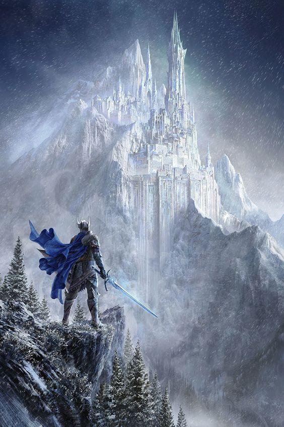 Winter Castle by Silentfield