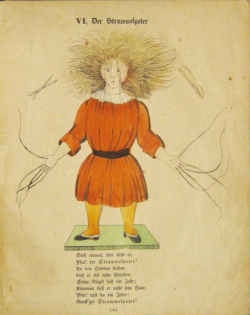 Art by the book Struwwelpeter