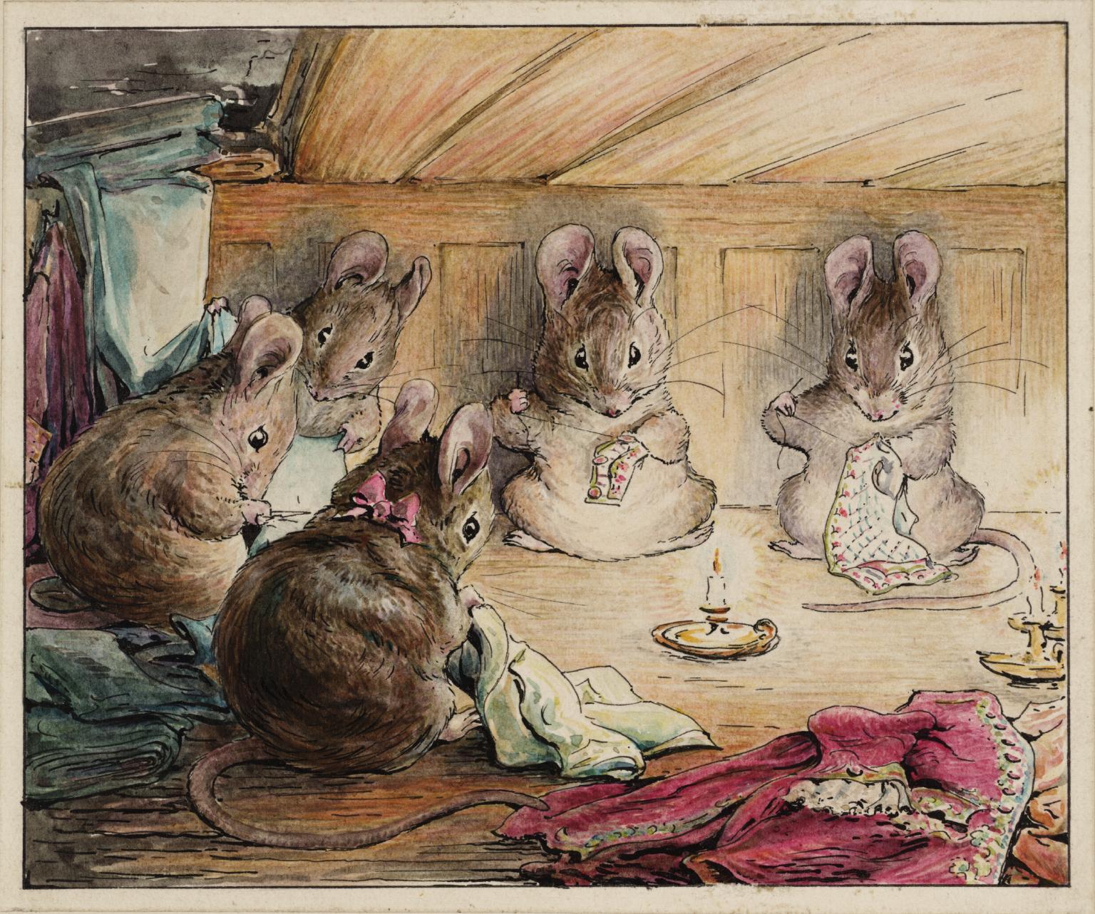 Art by Helen Beatrix Potter