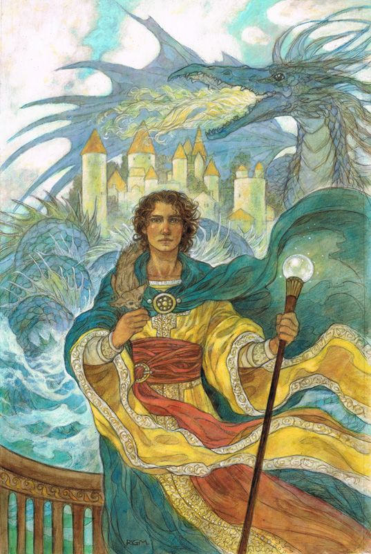 A wizard of Earthsea illustr by ajinak