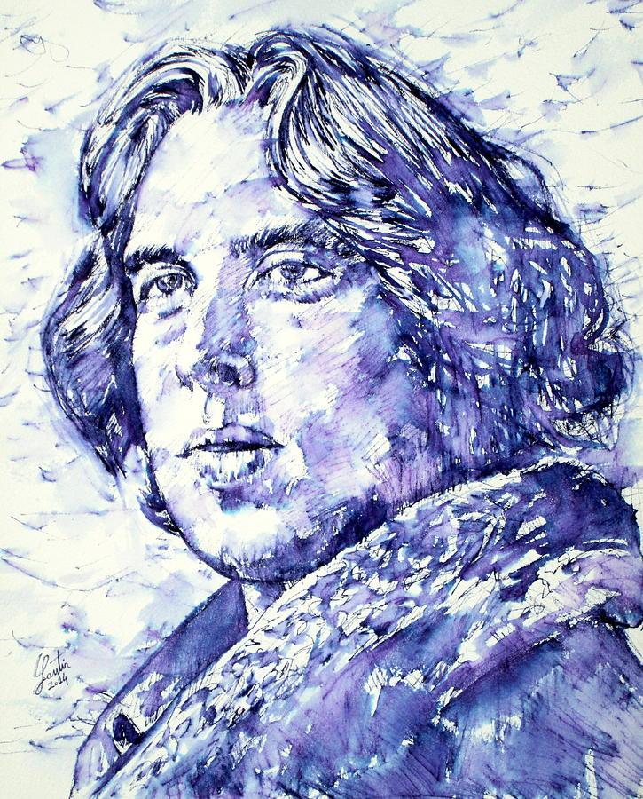 Oscar Wilde Portrait by Fabrizio Cassetta