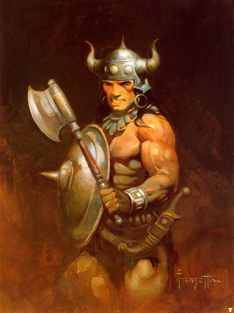 Art by Frank Frazetta