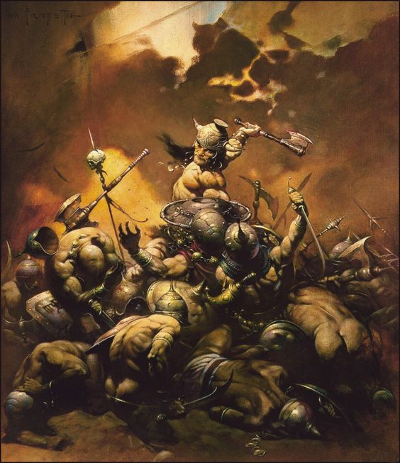 Frank Frazetta - The Destroyer