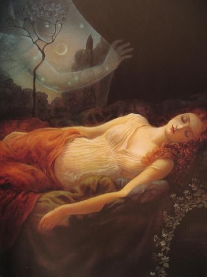 Psyche Sleeping by Kinuko Craft