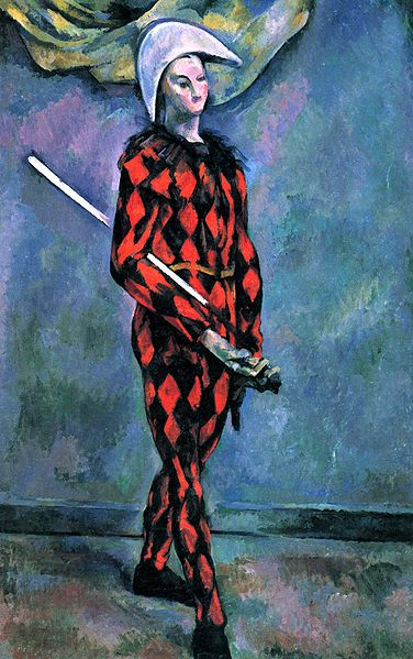 Harlequin - Paul Cezanne