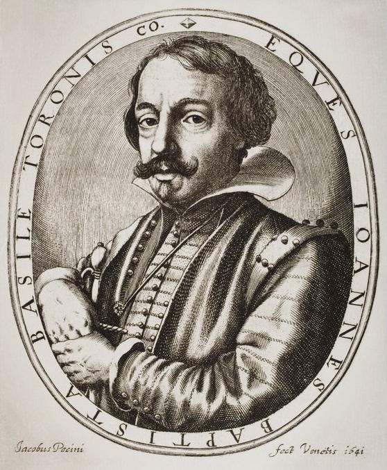 Giambattista Basile -Pecini, Jacobus (c.1617-1669)