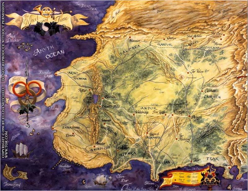Map by Ellisa Mitchell