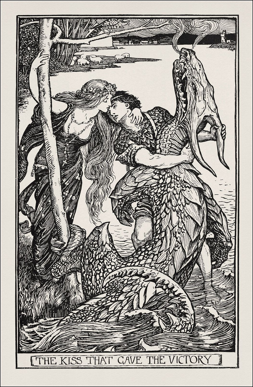 Henry Justice Ford - The crimson fairy book, edited by Andrew Lang, 1903