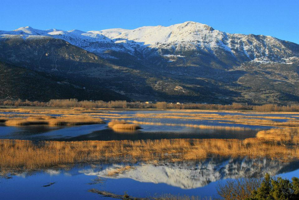 Stimfalia Lake - Photo source    here