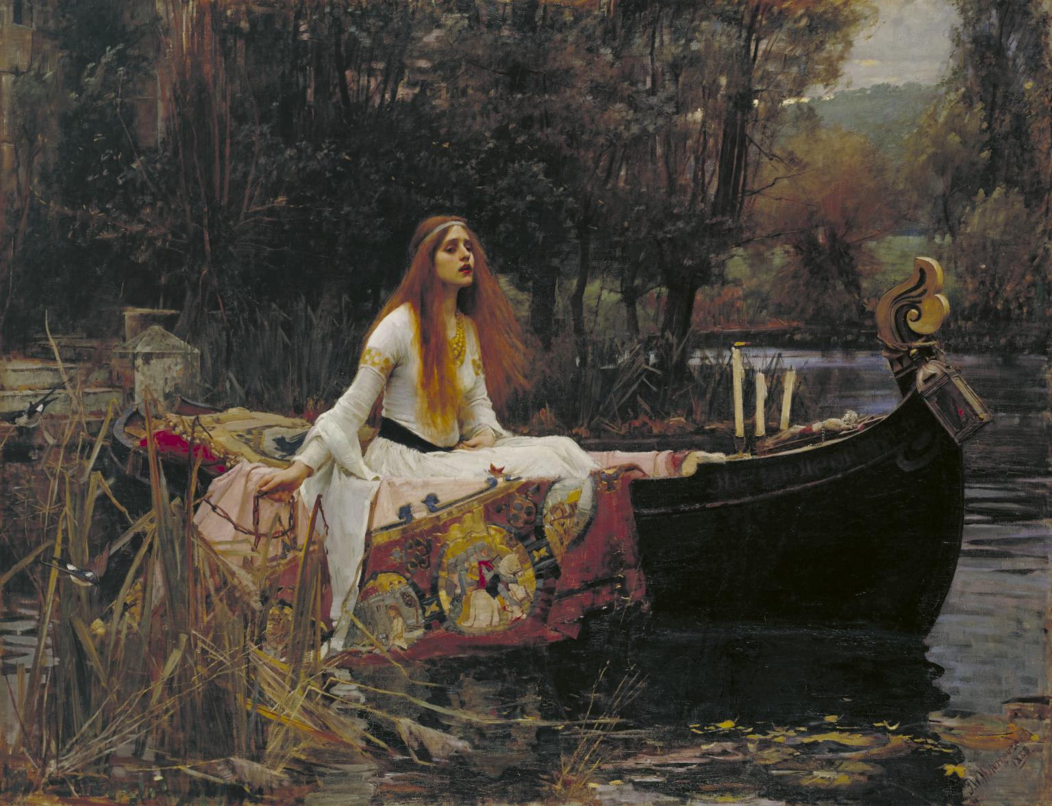 John William Waterhouse, 'The Lady of Shalott' 1888