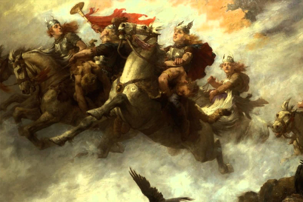 The Ride Of The Valkyries by William T.Maud