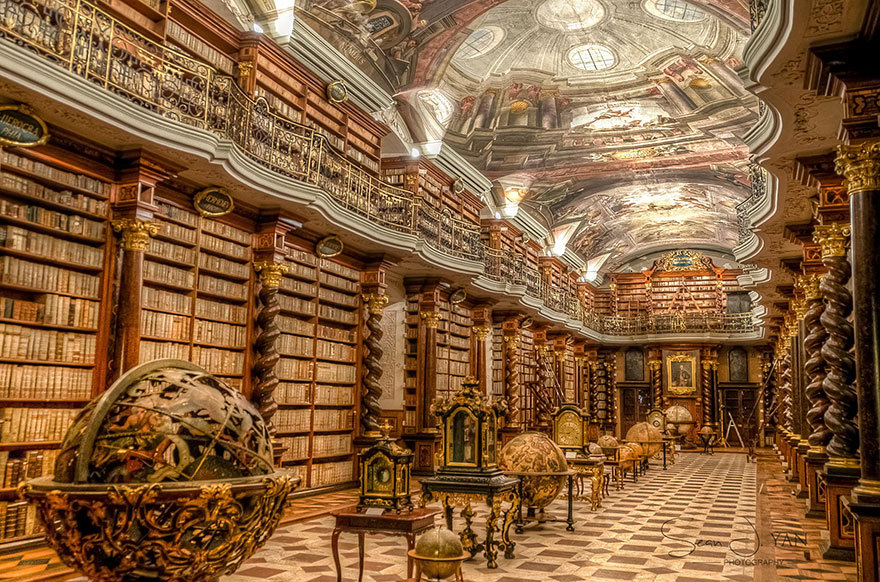 The Klementinum Library, The National Library
