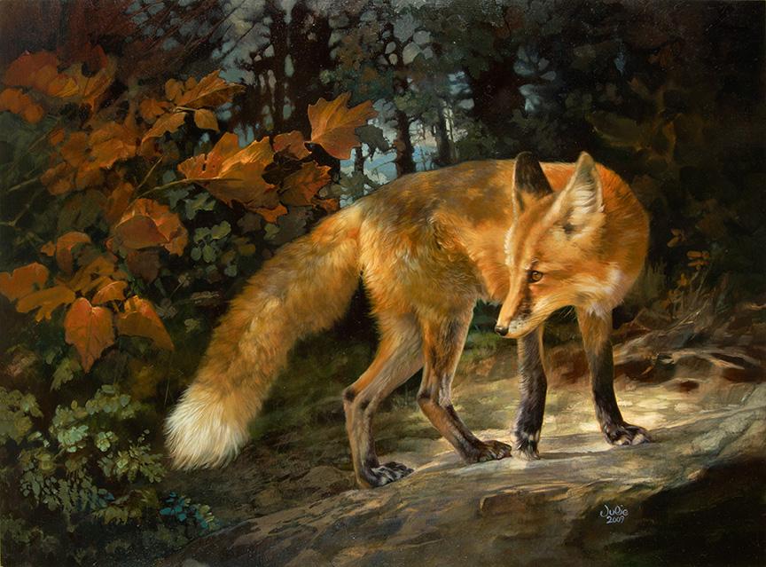 Fox by Julie Bell