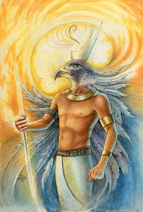 The Sun God by lisahunt