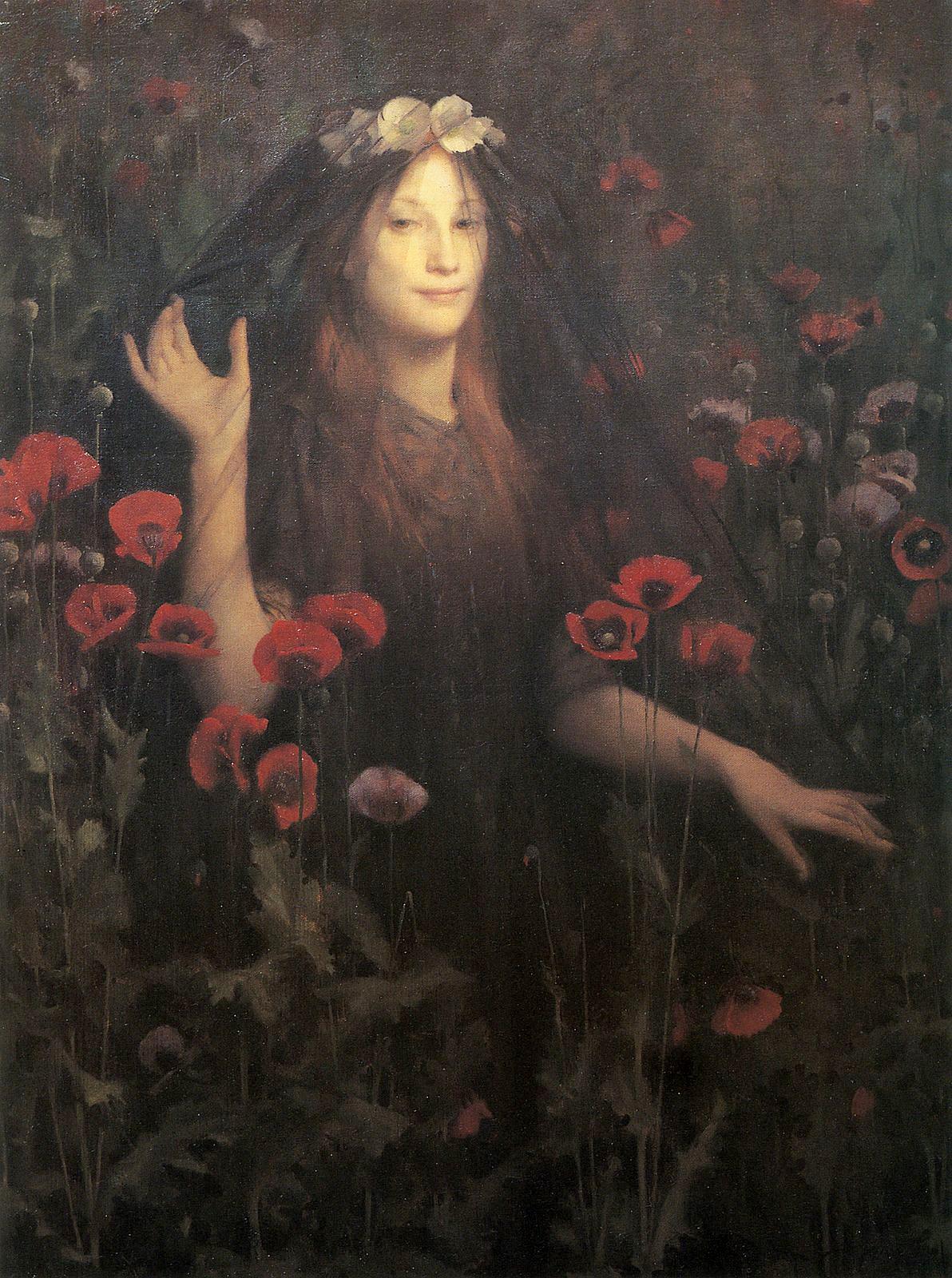 Thomas Cooper Gotch, Death the Bride, 1894-95