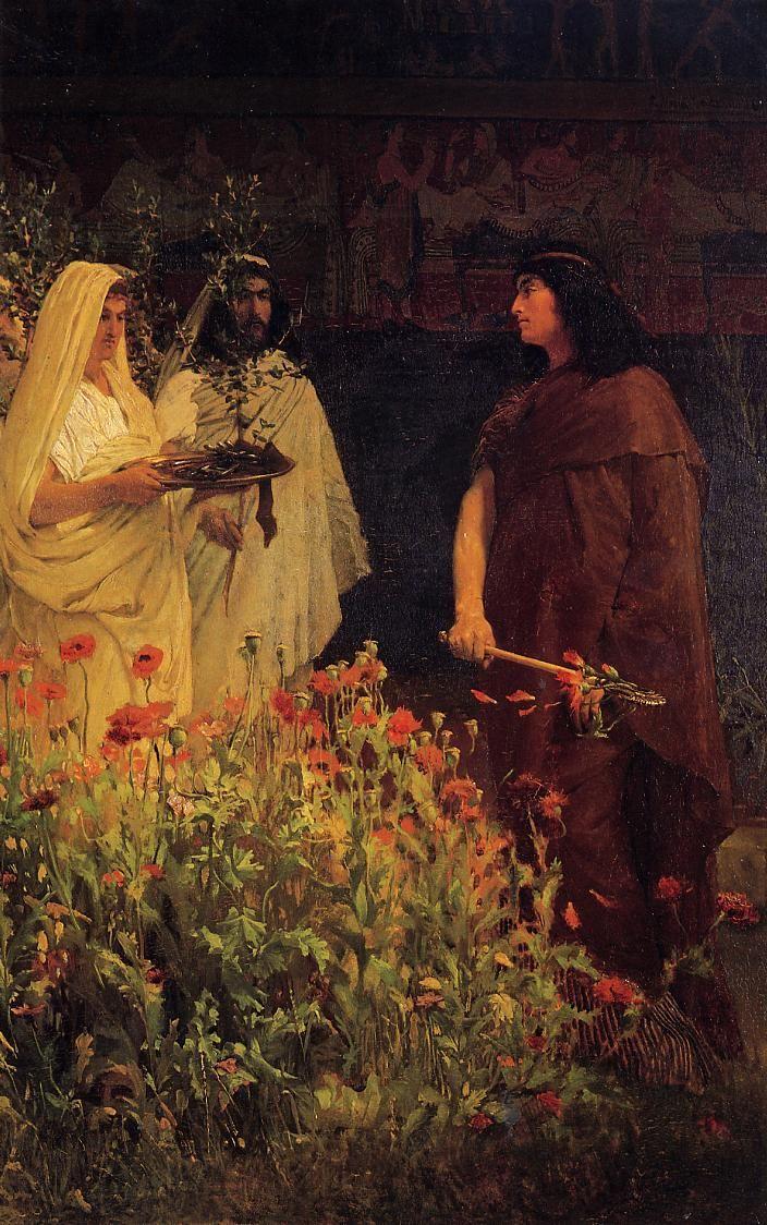 Art by Lawrence Alma-Tadema