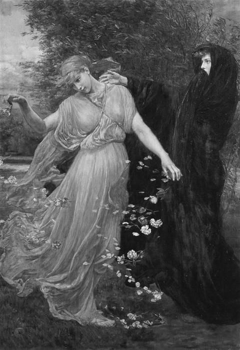 Art by by Valentine Cameron Prinsep (1838-1904)