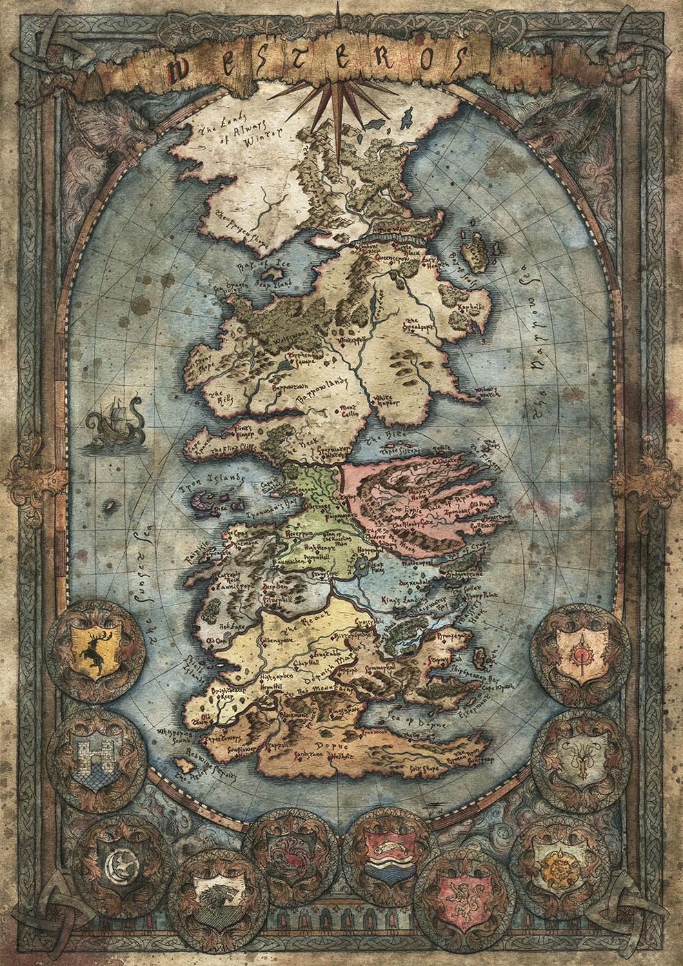 Map by Francesca Baerald