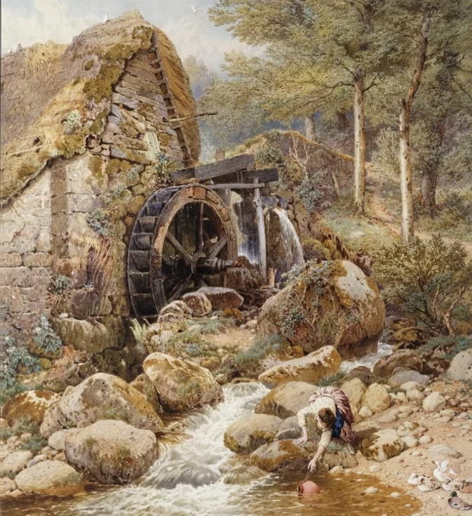 Αrt by Myles Birket Foster