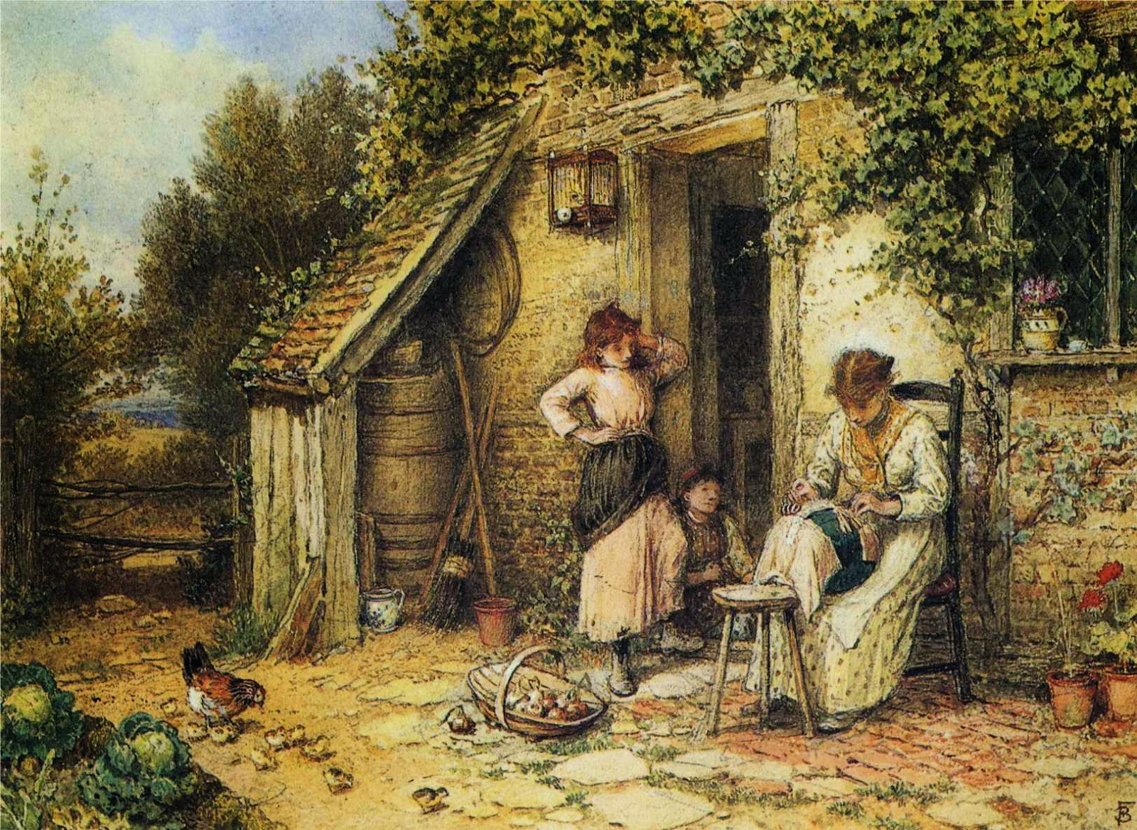 Art by Myles Birket Foster