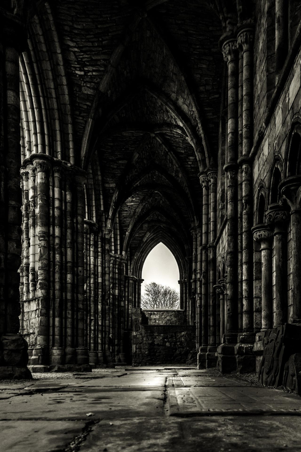 Holyrood Palace Abbey - credits Fábio Henrique