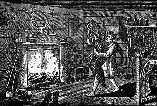 William Porter Attempts to Burn the Witch, 1894.