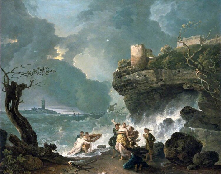 Ceyx and Alcyone by Richard Wilson