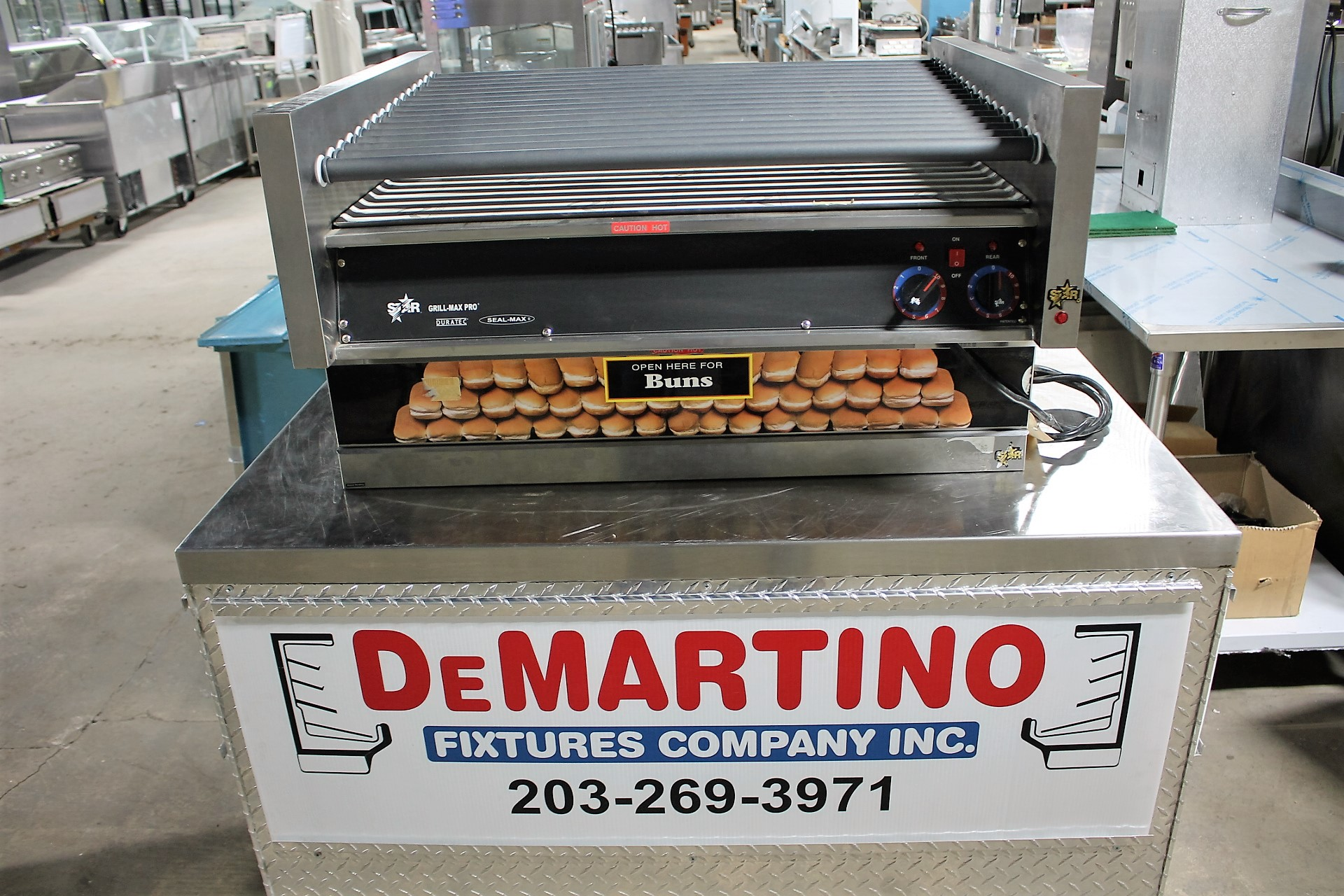 STAR -GRILL MAX PRO W- WITHOUT BUN WARMER- $ CALL $