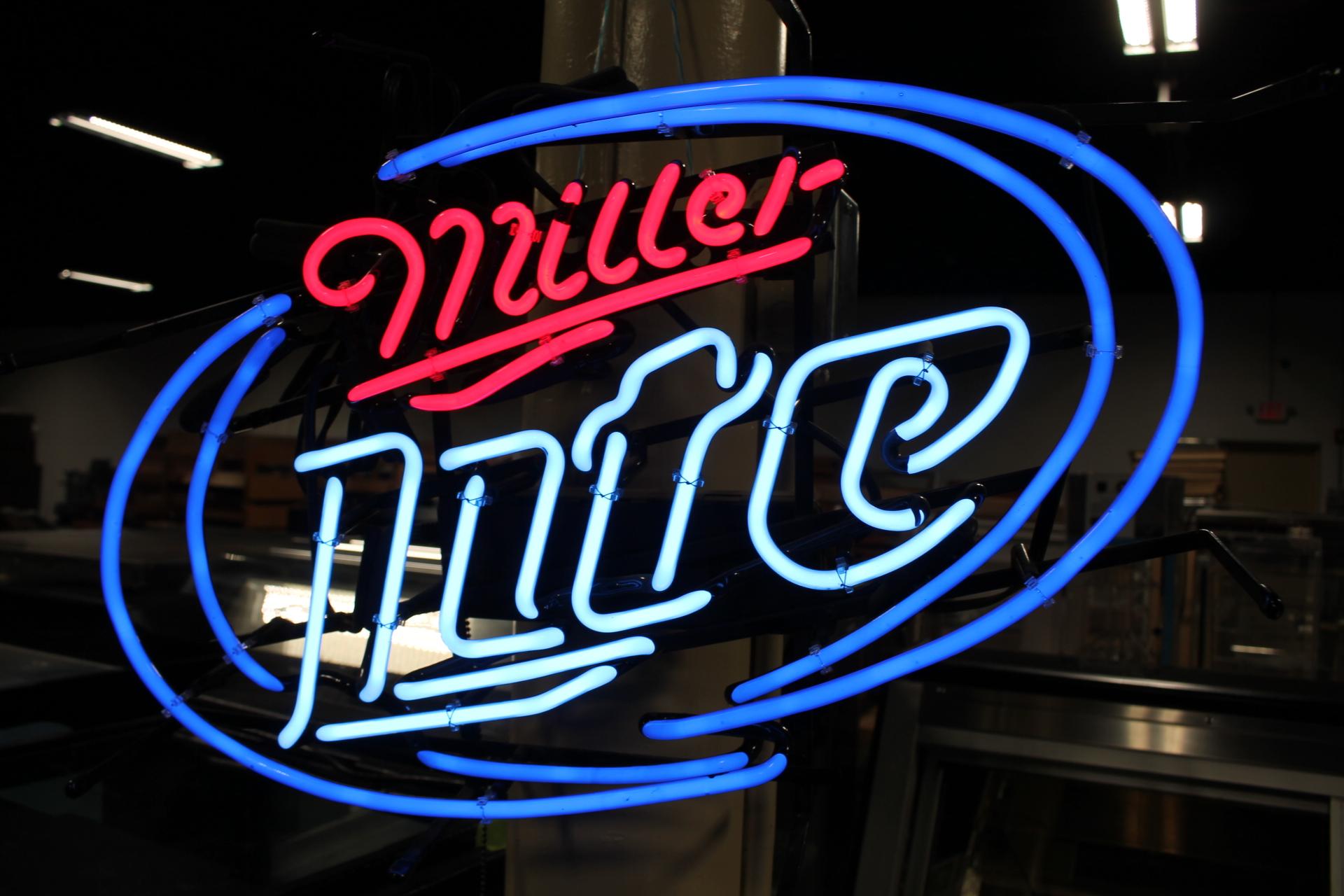 Miller Light Neon