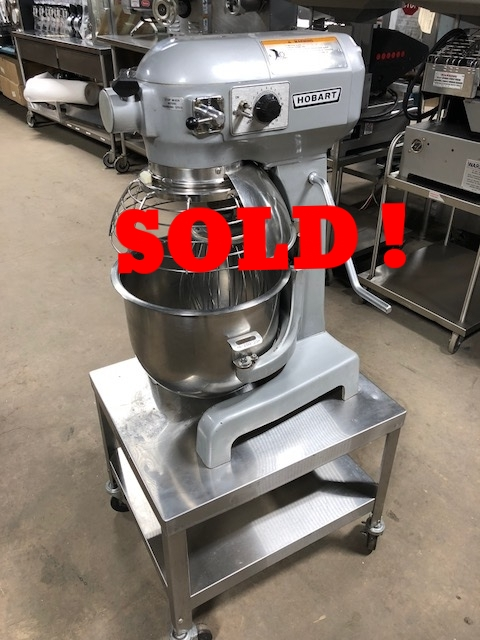 Hobart A-200T-20qt Mixer- Please Call!