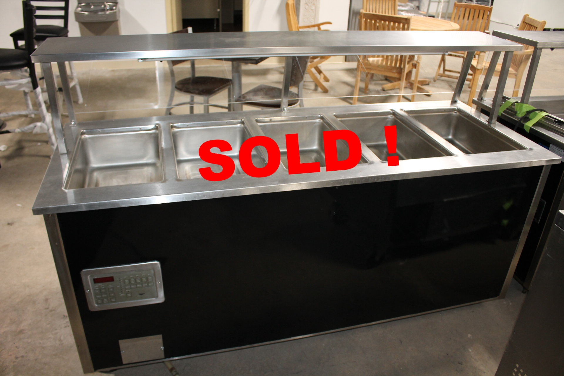 VOLLRATH-37050-5 -Hot Food Station-Please Call