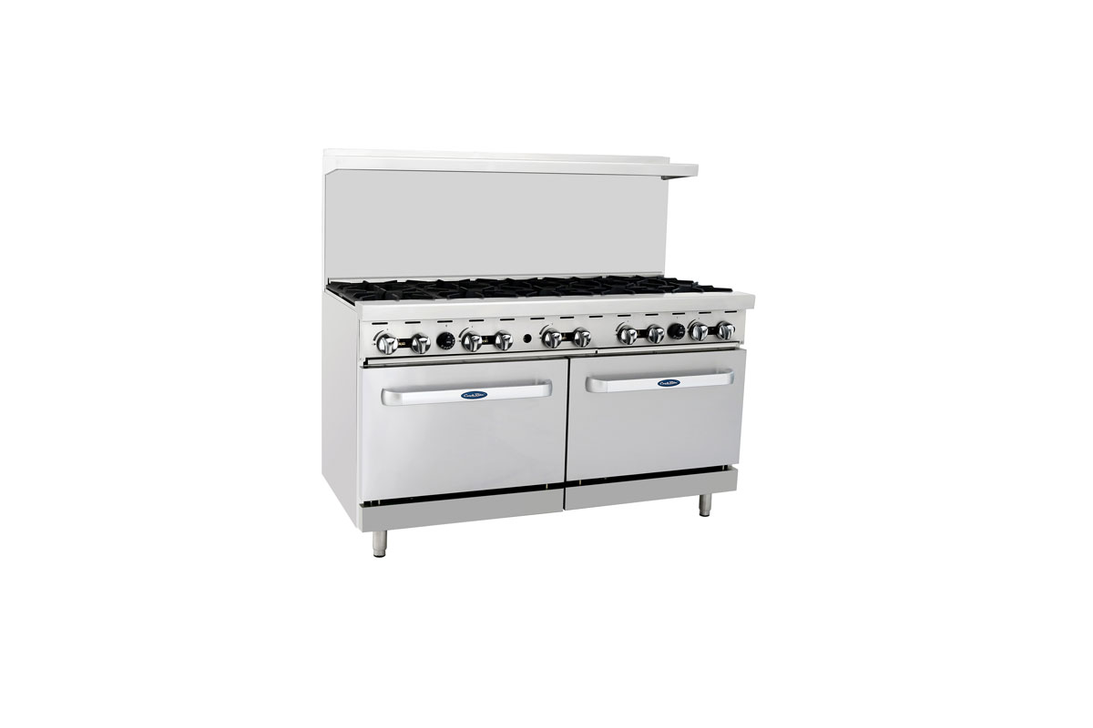 "(New) Atosa ATO-10B(60"" 10 Burners 2 Ovens) -Please Call"