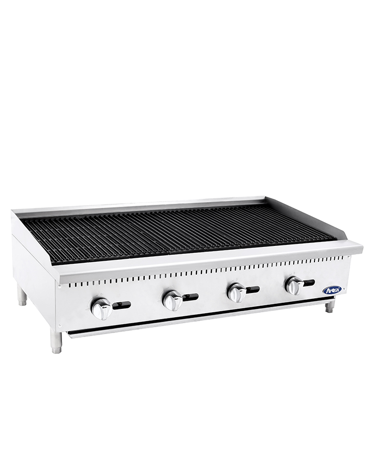 "(NEW) Atosa ATCB-48(48"" Charbroiler)-Please Call"