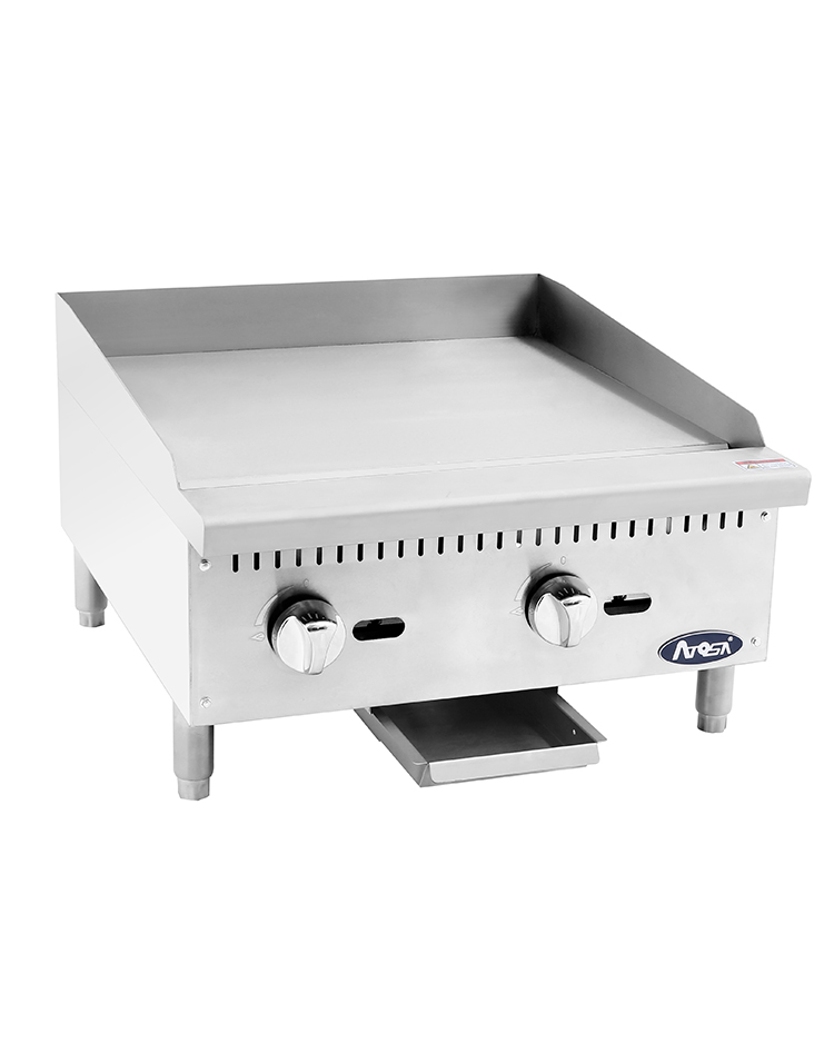 "(NEW) Atosa ATMG-24T(24"" Griddle)-Please Call"