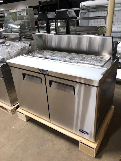 "(NEW) Atosa MSF8302(48"" Salad Prep)-Please Call"