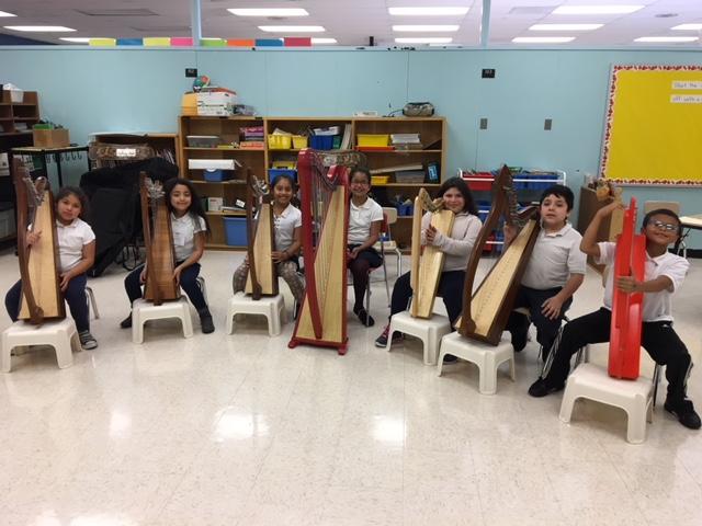 ORCHkids Harp Ensemble