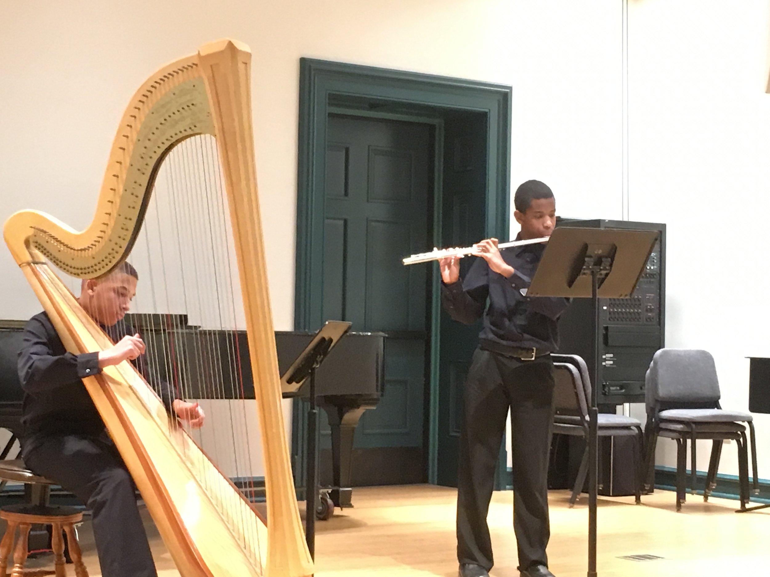 Anthony Alark and Jonah Lassiter, Tuned-In Chamber Music, Peabody Preparatory