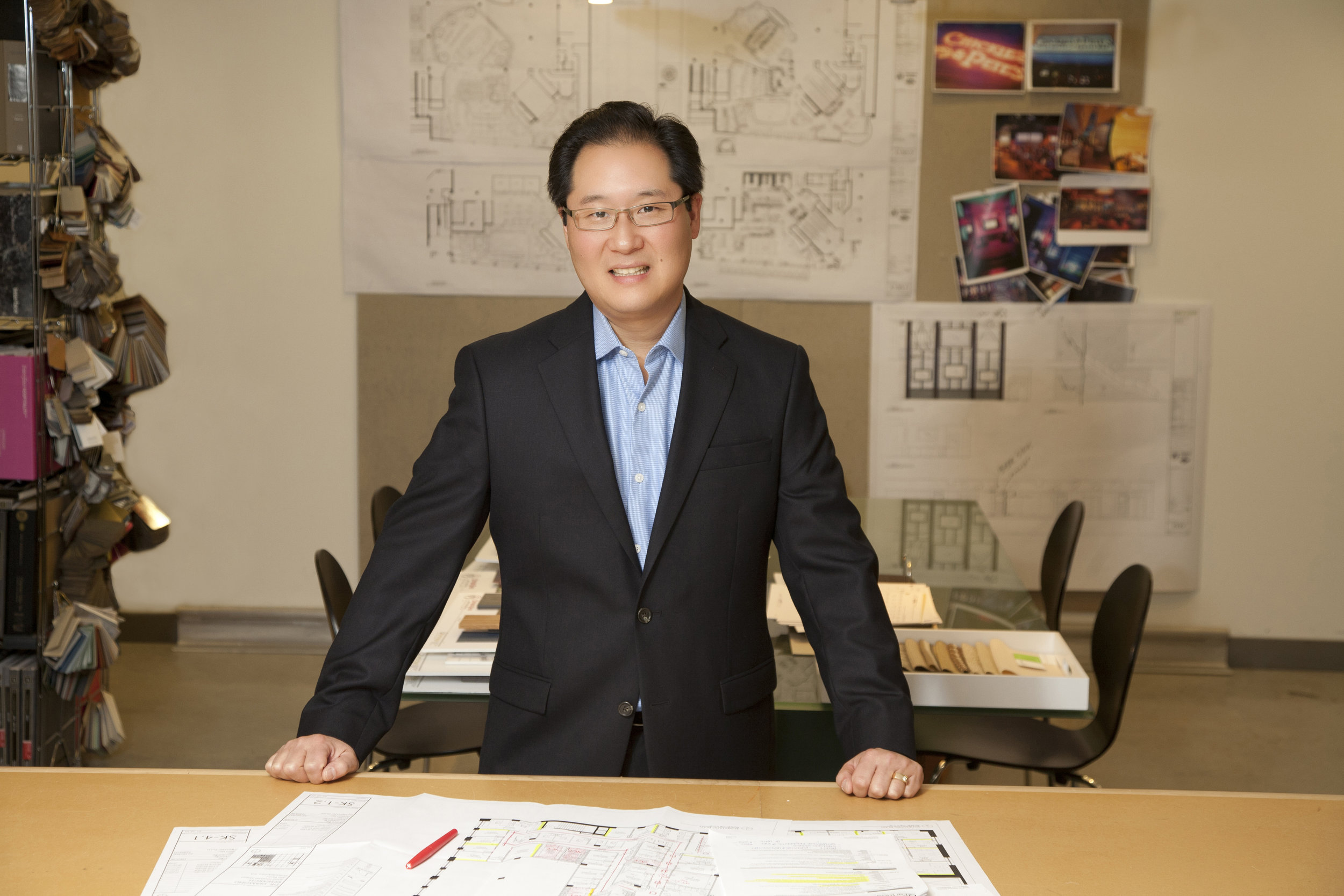Harry Kim, IIDA  Principal  Harry focuses his strong project management skills and dedication to client satisfaction on commercial interiors projects and building accounts. Harry's corporate experience spans law firms to non-profits to government work and includes the regional headquarters for engineering firm Parsons in Washington, DC; law offices for Offit Kurman in multiple locations in PA and MD; the Federal Community Defender Office for the Eastern District of Pennsylvania; and the Philadelphia office of software development firm OSIsoft. He also oversees the accounts for a number of prominent Center City Philadelphia high-rise commercial office buildings including 2 Liberty Place, One Penn Center and 2000 Market Street. Harry holds a BS Interior Design from Drexel University and is NCIDQ-Certified.