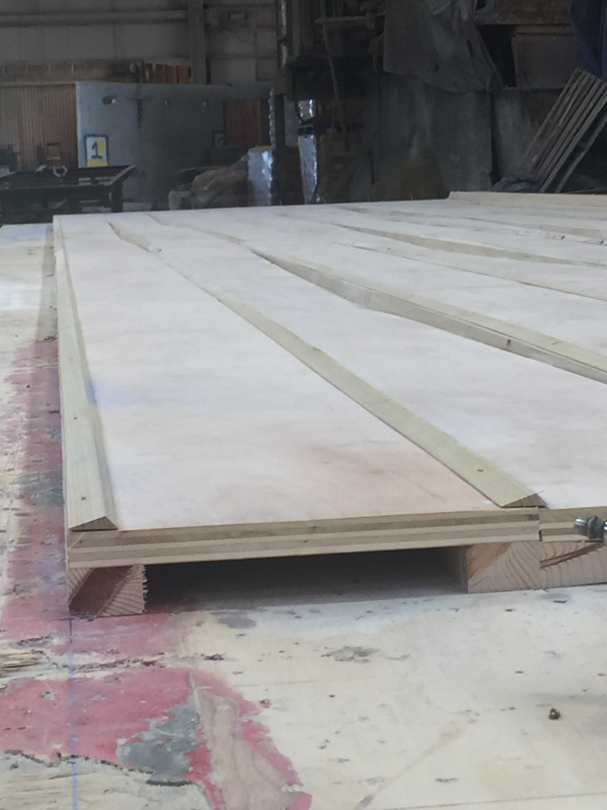 View of wood mold.