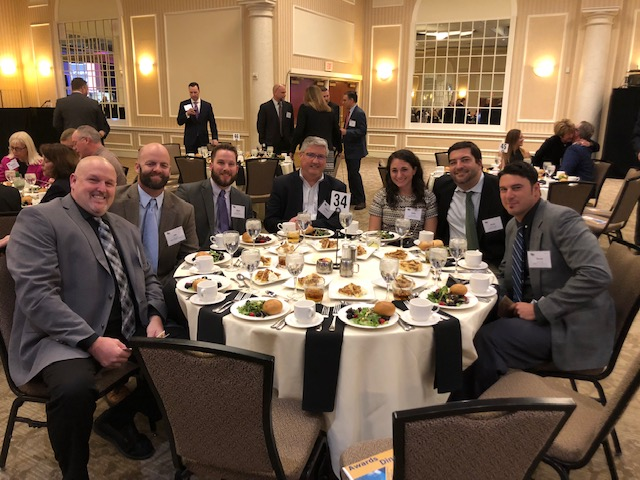 The BPGC Construction Team with Robert G. Little, Jr. attended the event.