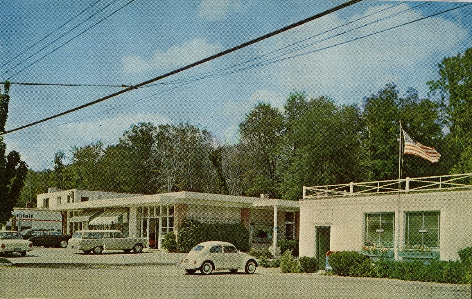 Scott's Corners Business District, 1960's