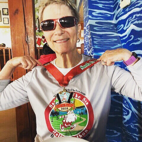 "Think age is keeping you from staying fit? Meet Gloria. At 81 years old, she is just speeding up: in December, Gloria won in her age group for the Santa to the Sea 5K in Oxnard, California. Now she is setting her sights higher. With Spring in hand, Gloria is training for The Great Race of Agoura - one of the most scenic road races in California, and named one of the Top 6 10Ks in the country by Runner's World. ⠀ Gloria has a history with Spring. Maybe you recognize her playlist? She is the inspiration behind ""Hit the Road Jack""— a mix of oldies and acoustic by artists such as The Beatles, Elvis, the Beach Boys and Frank Sinatra. Now that she's back to training, ""Hit the Road Jack"" is seeing an update - expect to see some cool additions soon! ⠀ .⠀ .⠀ .⠀ .⠀ #springmoves #fitnesswomen #sweatpink #girlpower #workoutgirl #girlswhorun #girlsgonesporty #fitover60 #fitover50 #fitnessmotivation #fitgrandma #fitness #fit #fitnessinspiration"