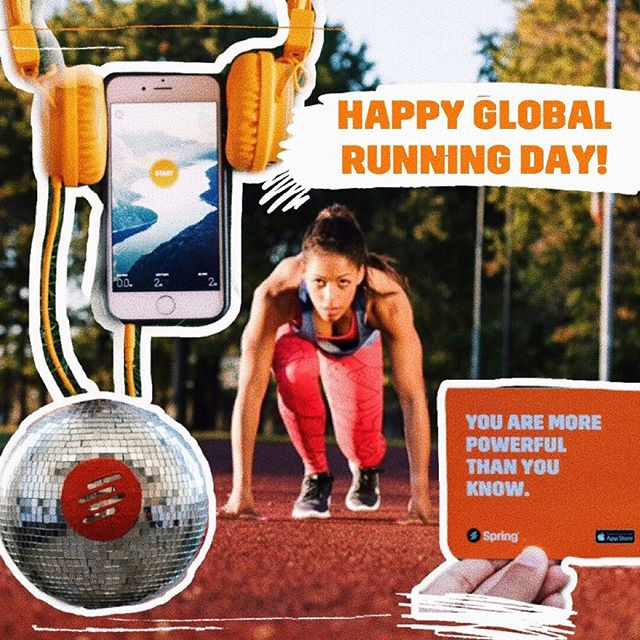 It's our favorite day of the year: #GlobalRunningDay! 🏃‍♀️Lace up those sneakers and get out there. Where are you running today? Tell us in the comments! . . . . . #running #runnerslife #igrunners #runnerscommunity #runplanet #instarunners #runnersworld #runnersofinstagram #wearetherunners #runningcrew #runner #runhappy #runchat #runstagram #runningplaylist #workoutmusic