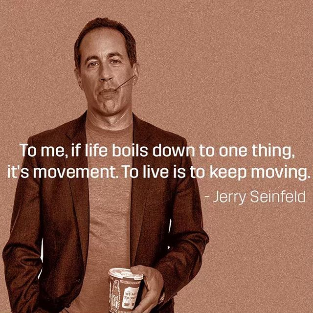 How will you #move today? 🏃‍♂️🏃‍♀️🏃‍♂️🏃‍♀️ @jerryseinfeld · · · · · #picoftheday #photooftheday #loveyourself #goals #instagood #liveauthentic #inspirationalquotes #motivate #makeithappen #fitness #instamood #goodvibes #mindfulness #positivevibes #passion #quotestoliveby #inspirationalquotes #motivationalquotes #quotes #wisdom #music #beats #springmoves #springapp #writers #quoteoftheday #musicapp #fitnessmusic #musicplaylist