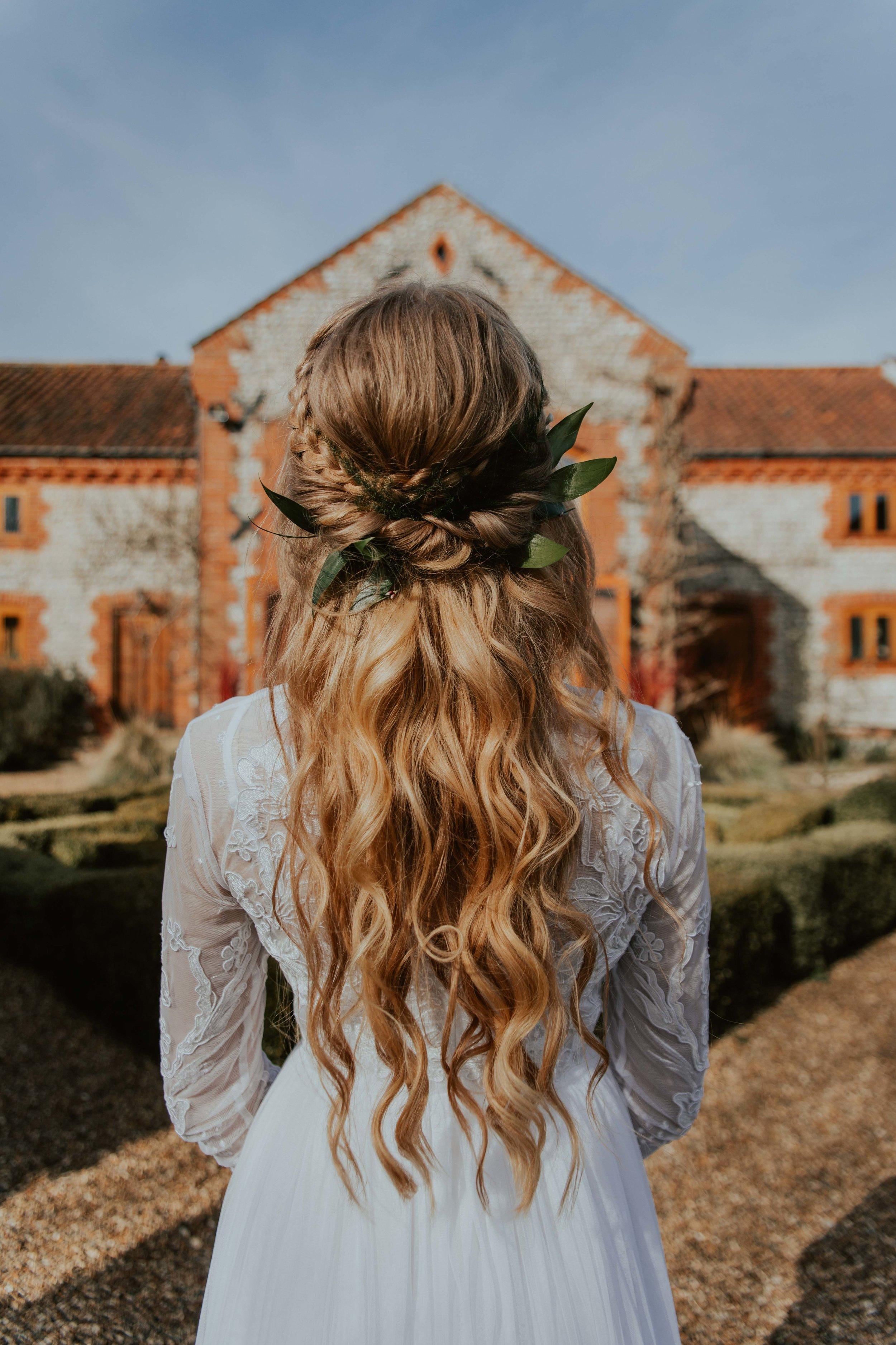 Chaucer Barn, wedding hair norfolk suffolk hair design by lisa