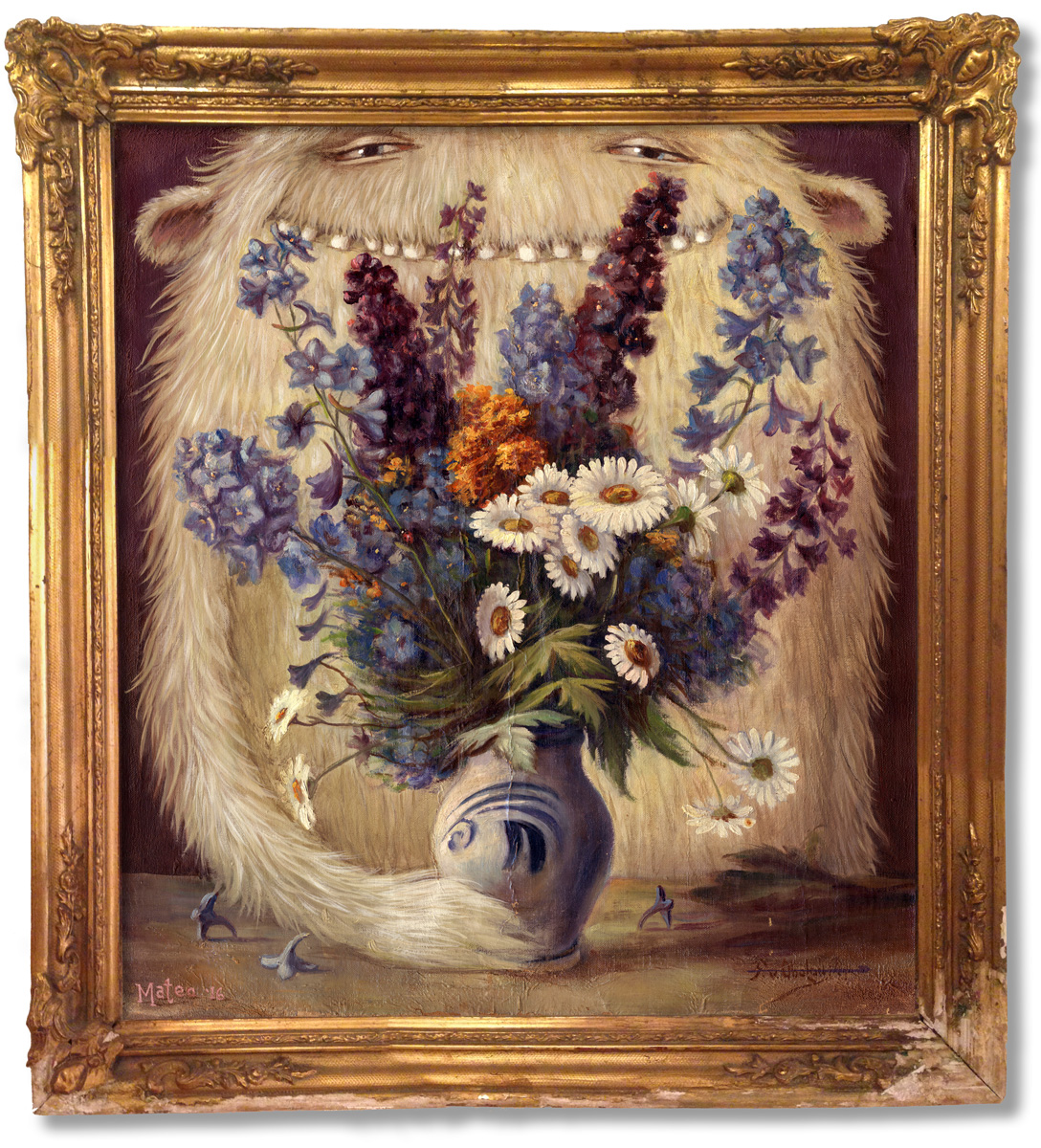 """""""Still Life With Lilacs and Hank"""""""