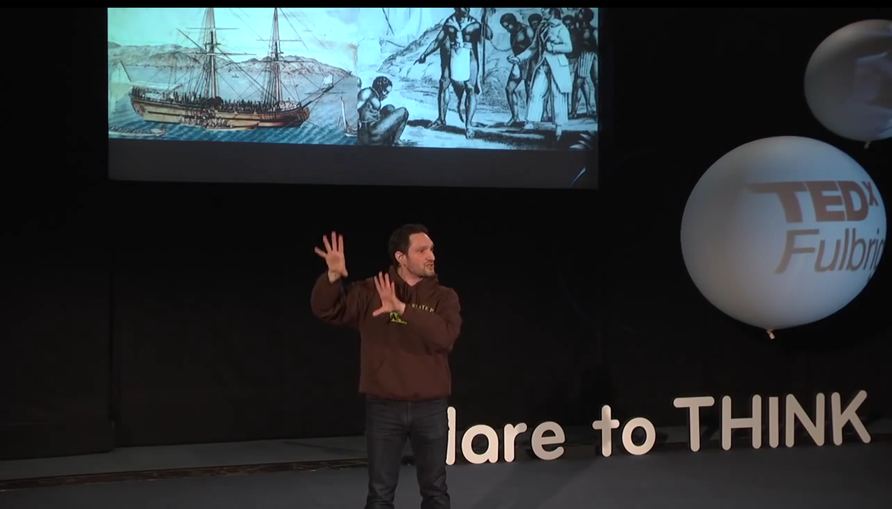 Our 2013-2014 Fulbright NY Alumnus-in-Residence, Jeremy Xido, speaking at TEDxFulbright